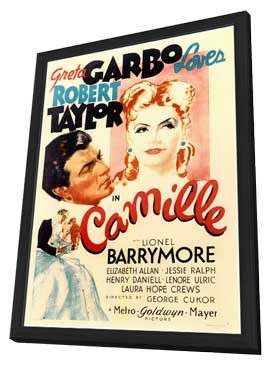 Camille - 11 x 17 Movie Poster - Style A - in Deluxe Wood Frame