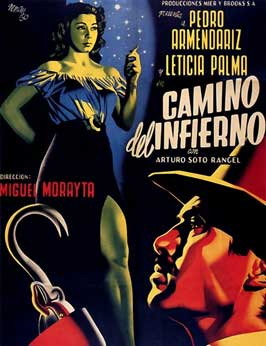 Camino del infierno - 11 x 17 Movie Poster - Spanish Style A