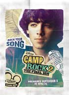 Camp Rock: The Final Jam (TV) - 27 x 40 Movie Poster - Style D