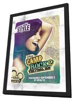 Camp Rock: The Final Jam (TV) - 11 x 17 Movie Poster - Style G - in Deluxe Wood Frame