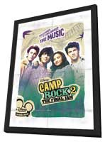 Camp Rock: The Final Jam (TV) - 27 x 40 Movie Poster - Style B - in Deluxe Wood Frame