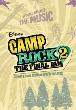 Camp Rock: The Final Jam (TV) - 11 x 17 Movie Poster - Style G