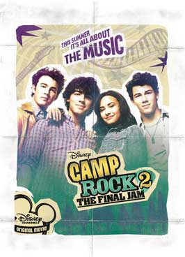 Camp Rock: The Final Jam (TV) - 43 x 62 Movie Poster - Bus Shelter Style A