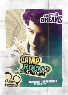 Camp Rock: The Final Jam (TV) - 11 x 17 Movie Poster - Style C
