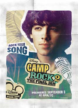 Camp Rock: The Final Jam (TV) - 11 x 17 Movie Poster - Style D