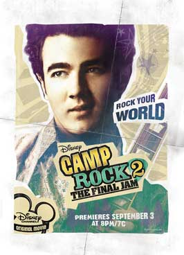 Camp Rock: The Final Jam (TV) - 27 x 40 Movie Poster - Style E