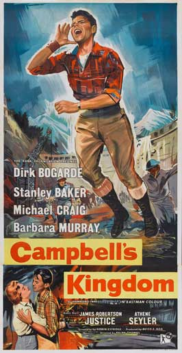 Campbell's Kingdom - 20 x 40 Movie Poster - UK Style A