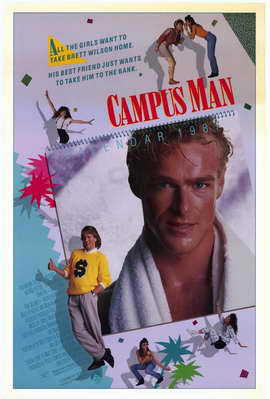 Campus Man - 27 x 40 Movie Poster - Style A