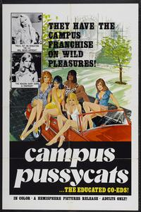 Campus Pussycats - 11 x 17 Movie Poster - Style A