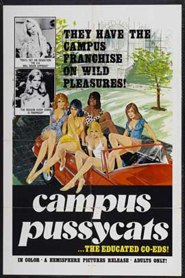 Campus Pussycats - 27 x 40 Movie Poster - Style A