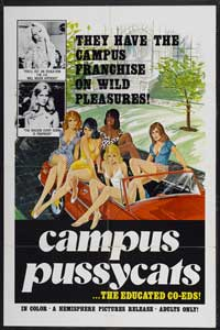 Campus Pussycats - 43 x 62 Movie Poster - Bus Shelter Style A