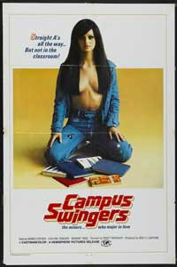 Campus Swingers - 43 x 62 Movie Poster - Bus Shelter Style A