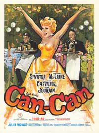 Can-Can - 11 x 17 Movie Poster - Spanish Style A