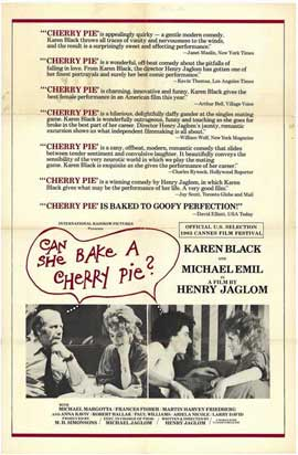 Can She Bake a Cherry Pie? - 11 x 17 Movie Poster - Style A