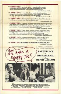 Can She Bake a Cherry Pie? - 27 x 40 Movie Poster - Style A