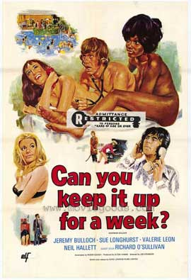 Can You Keep It Up for a Week - 11 x 17 Movie Poster - Style A