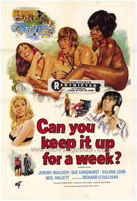 Can You Keep It Up for a Week - 27 x 40 Movie Poster - Style A