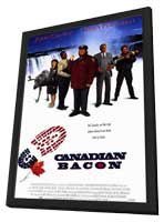 Canadian Bacon - 11 x 17 Movie Poster - Style B - in Deluxe Wood Frame
