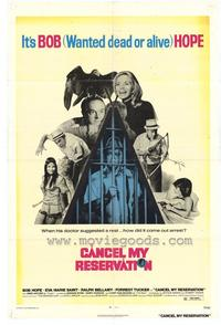 Cancel My Reservation - 27 x 40 Movie Poster - Style A