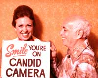 Candid Camera - 8 x 10 Color Photo #1