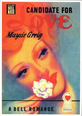 Candidate For Love - 11 x 17 Retro Book Cover Poster
