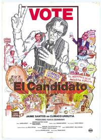 Candidato, El - 27 x 40 Movie Poster - Spanish Style A