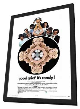 Candy - 11 x 17 Movie Poster - Style A - in Deluxe Wood Frame
