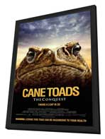 Cane Toads: The Conquest - 11 x 17 Movie Poster - Style A - in Deluxe Wood Frame
