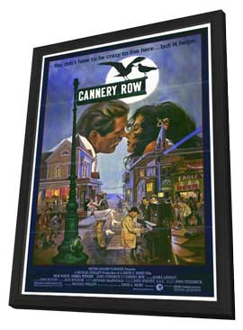 Cannery Row - 27 x 40 Movie Poster - Style A - in Deluxe Wood Frame