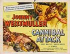 Cannibal Attack - 22 x 28 Movie Poster - Half Sheet Style A