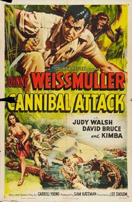 Cannibal Attack - 27 x 40 Movie Poster - Style A