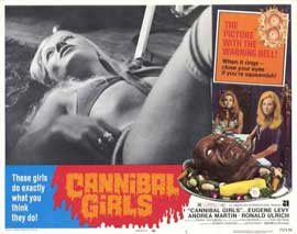 Cannibal Girls - 11 x 14 Movie Poster - Style C