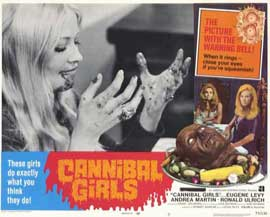 Cannibal Girls - 11 x 14 Movie Poster - Style H