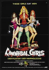 Cannibal Girls - 27 x 40 Movie Poster - German Style B
