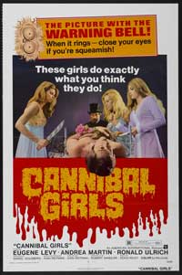 Cannibal Girls - 43 x 62 Movie Poster - Bus Shelter Style A