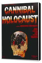 Cannibal Holocaust - 27 x 40 Movie Poster - Style A - Museum Wrapped Canvas