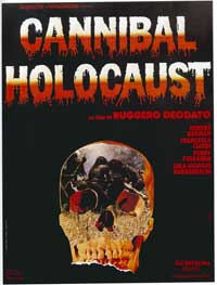 Cannibal Holocaust - 11 x 17 Movie Poster - Style A