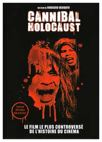 Cannibal Holocaust - 27 x 40 Movie Poster - French Style A