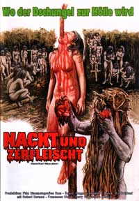 Cannibal Holocaust - 27 x 40 Movie Poster - German Style A