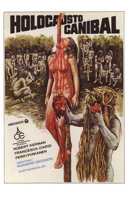Cannibal Holocaust - 11 x 17 Movie Poster - Spanish Style B