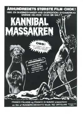 Cannibal Holocaust - 11 x 17 Movie Poster - Danish Style A