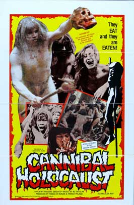 Cannibal Holocaust - 11 x 17 Movie Poster - Style C