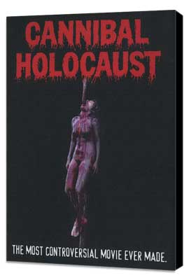 Cannibal Holocaust - 27 x 40 Movie Poster - Style B - Museum Wrapped Canvas