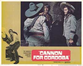 Cannon for Cordoba - 11 x 14 Movie Poster - Style C