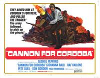 Cannon for Cordoba - 11 x 14 Movie Poster - Style A