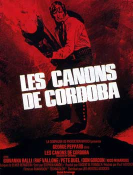 Cannon for Cordoba - 11 x 17 Movie Poster - French Style A