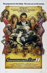 Cannonball Run 2 - 43 x 62 Movie Poster - Bus Shelter Style A