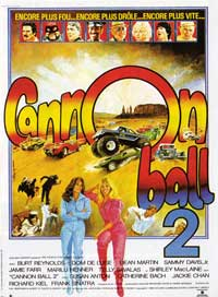 Cannonball Run 2 - 11 x 17 Movie Poster - French Style A