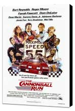 Cannonball Run - 27 x 40 Movie Poster - Style A - Museum Wrapped Canvas