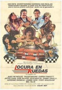 Cannonball Run - 11 x 17 Movie Poster - Spanish Style A